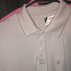 izod golf polo shirt dry fit